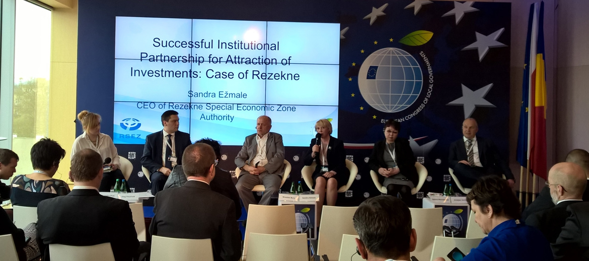 Representatives of RSEZ participate in European Congress of Local Governments in Krakow