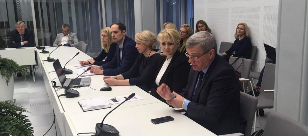 Saeima Sustainable Development Commission discusses about Rēzekne SEZ and Latgale SEZ