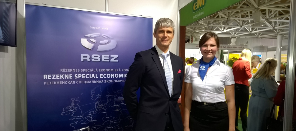 RSEZ participates at the Days of Entrepreneurs in Daugavpils